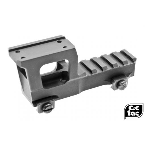 """C&C T1 T2 Micro / Holosun 2.33"""" Height Rise Mount ( BK RB1 Style )"""