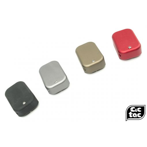 C&C TT Style CNC Aluminum Short Magazine Pad Extension for TM / WE G Series ( G Model )