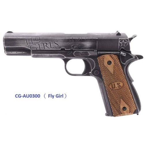 Cybergun AUTO ORDNANCE CUSTOM 1911 GBB Pistol  - FLY GIRLS
