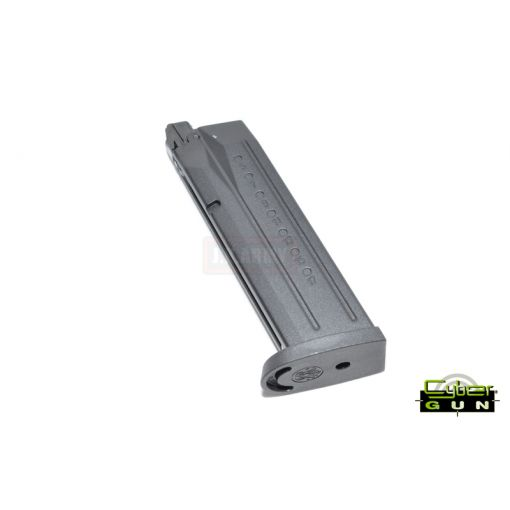 Cybergun 24 Rds Gas Magazine for M&P9 Full Size ( BK )
