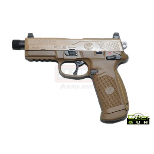 Cybergun FN FNX45 Tactical GBB Airsoft Pistol ( DE )