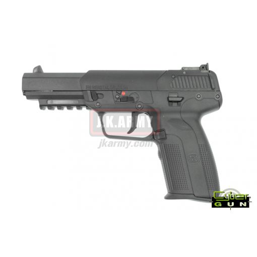 Cybergun FN57 Five-Seven Regular Gas GBB Airsoft Pistol ( BK )