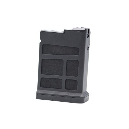 Double Eagle DE M66 Polymer Spring Sniper Magazine 50 Rounds 6mm ( Black )