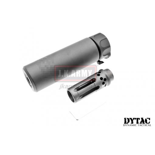 DYTAC SOCOM Mini 1 Silencer w/ WARCOMP-556 Flash Hider (Black)