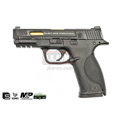 EMG / SAI / Smith & Wesson Licensed M&P 9 SAI Full Size Airsoft GBB Pistol ( Black )