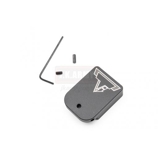 EMG / TTI Combat Master Magazine Base Plate for AW / WE / EMG TTI Hi-Capa Magazine ( No Charging Port / Co2 Ver. ) ( Black ) ( AW )
