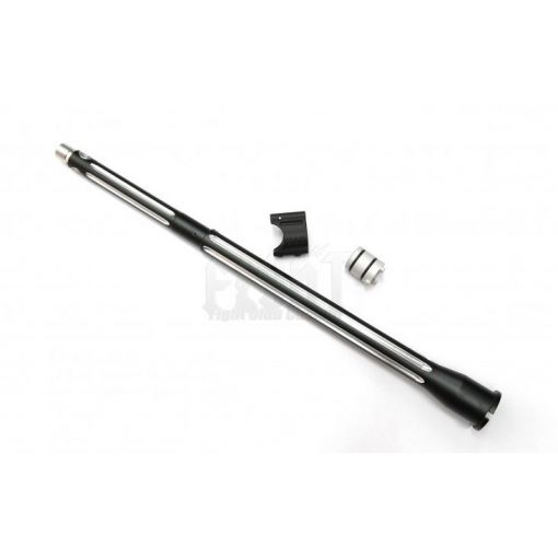 "B*D style Ultramatch 14.5"" outer barrel kit for WE/WA GBB w/ Proprietary Gasblock Combo(Black/Silver).625"" Version"