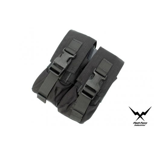 FFI Double 556 / M4 Mag Pouch ( Black )