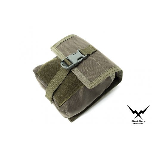 FFI Modular Battery / NVG Pouch ( Mas Grey )