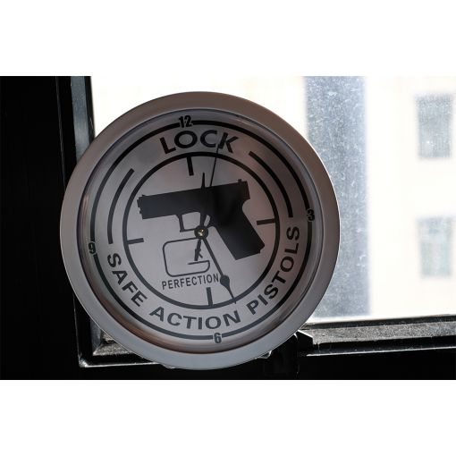 G Pistol Style Safe Clock Functional