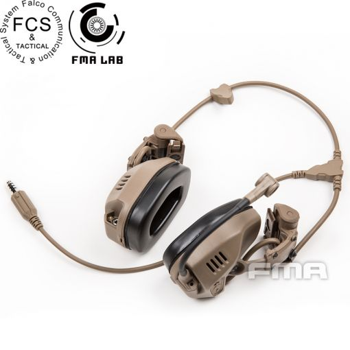 FMA FCS RAC Style Headset / with 6 Pins PTT ( DE )