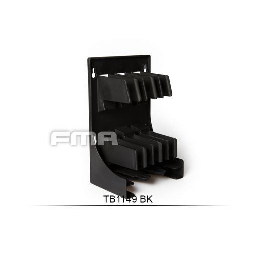 FMA Plastic Airsoft Magazine Holder & Storage ( BK )
