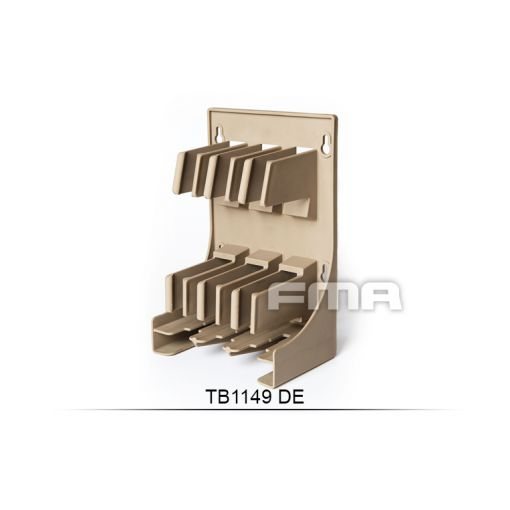 FMA Plastic Airsoft Magazine Holder & Storage ( DE )
