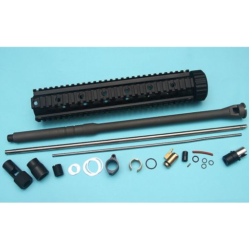 G&P SPR Full Front Set Kit For Marui MWS ( Black )
