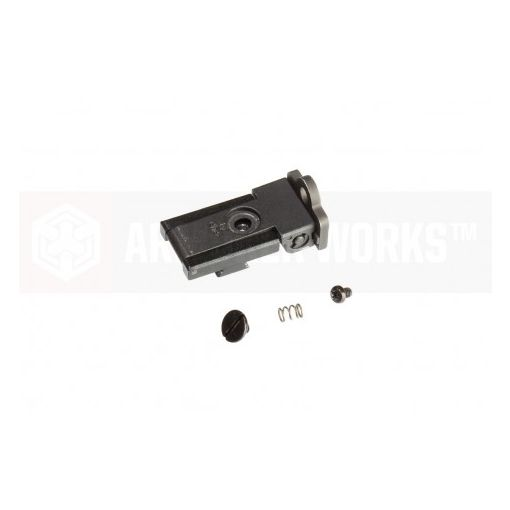 Armor Work HX22 Rear Sight Assembly ( Ghost Ring / Aperture Sight ) for TM / AW Hi-Capa