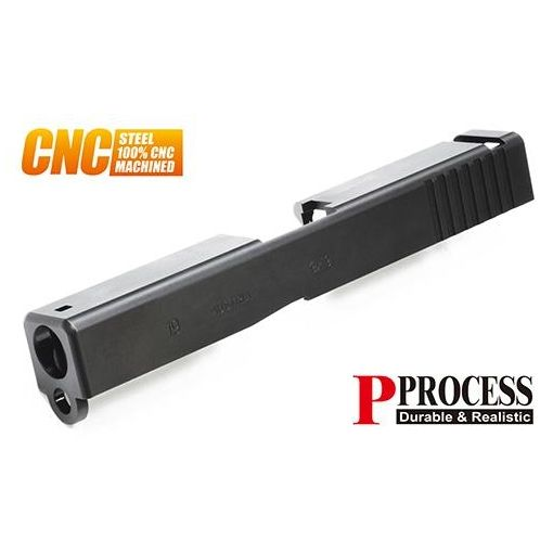 Guarder Steel CNC Slide for MARUI Model 19 ( Black )