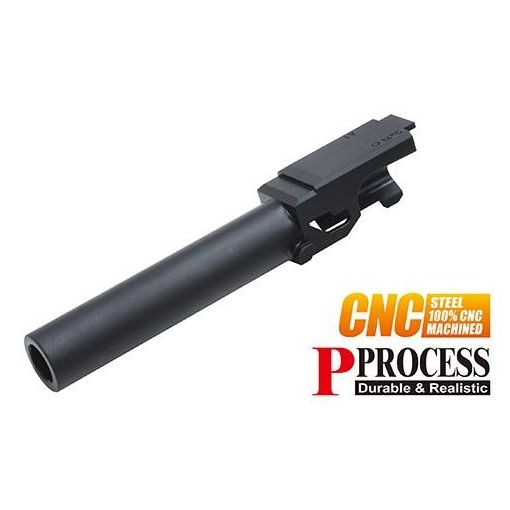 Guarder CNC Steel Outer Barrel for MARUI Model 19