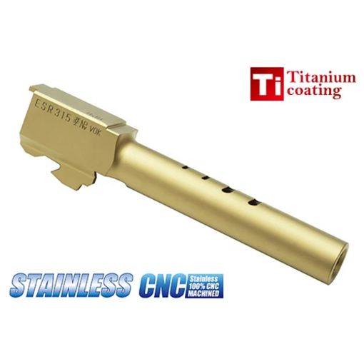 Guarder CNC Steel Outer Barrel for TM Model 18C ( Titanium Gold )