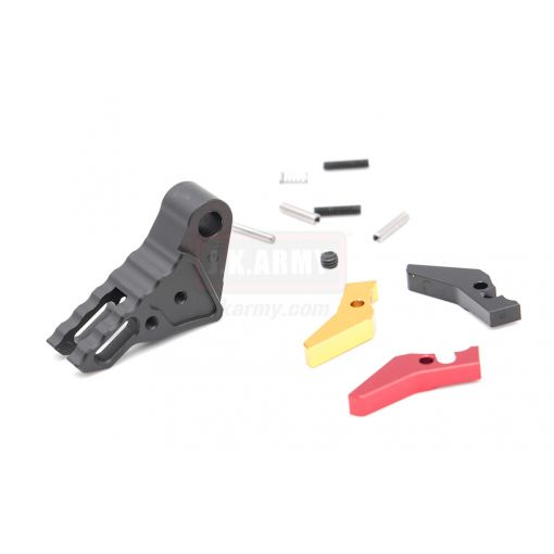 Guns Modify KI Adjustable Trigger for Umarex / TM G Model GBB Pistol Series ( Black / Grey / Red )