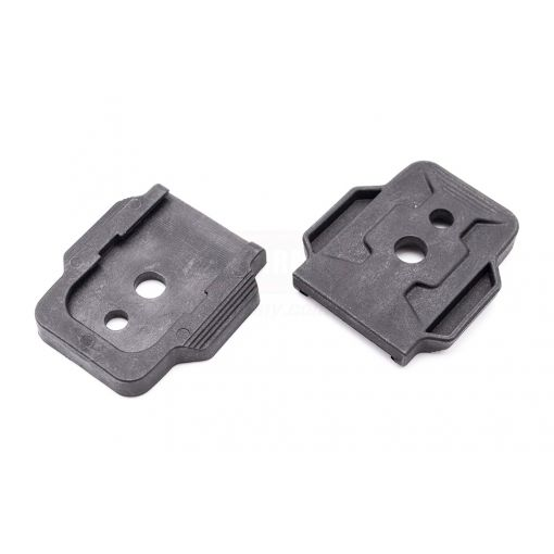 G&P Mag Wing Base for Airsoft Glock Series Magazine ( 2pcs ) ( Black ) ( TM G Model )