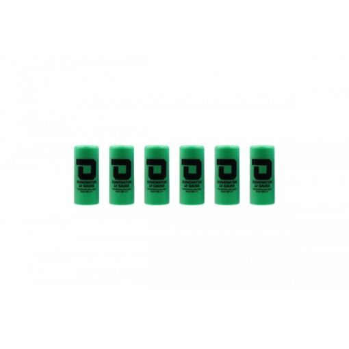 DOMINATOR™ 12 Gauge Gas Shotgun Shell Hulls - Green ( 6 Shells / Pack ) ( DM870 )