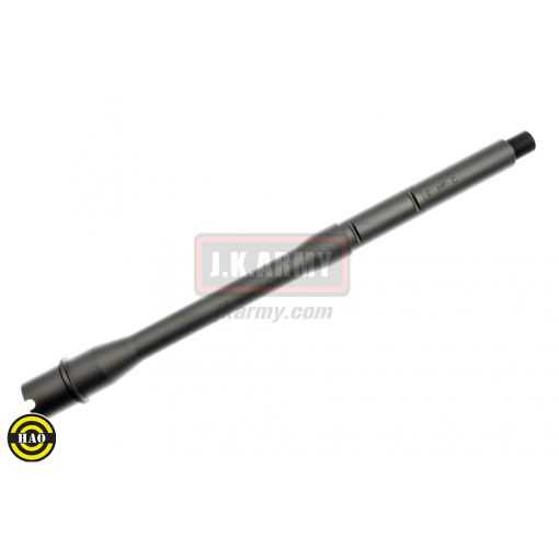 HAO XM117E2 CNC Alloy Barrels 12inch 14mm CCW for Systema PTW ( Black )