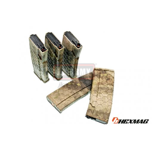 Hexmag Airsoft 120rd Magazine for AEG ( 5 Pcs Pack - ATAU )