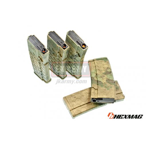 Hexmag Airsoft 120rd Magazine for AEG ( 5 Pcs Pack - ATFG )