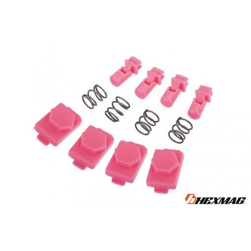 Hexmag Airsoft HexID - Hexgon Latchplates ( Panther Pink )