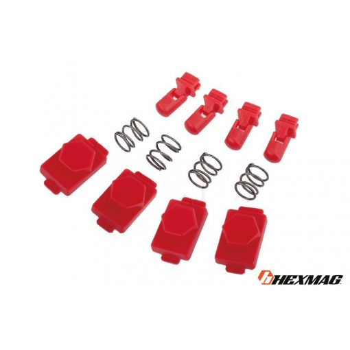 Hexmag Airsoft HexID - Hexgon Latchplates ( Lava Red )
