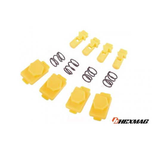 Hexmag Airsoft HexID - Hexgon Latchplates ( Hazard Yellow )