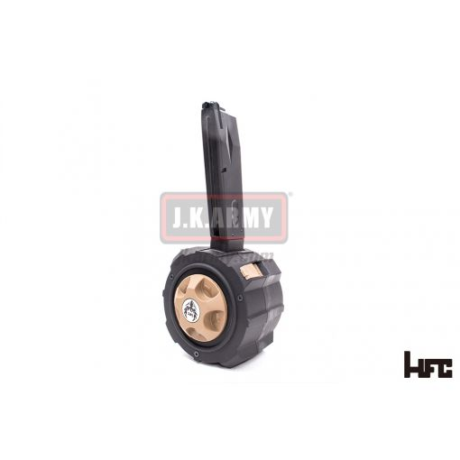 HFC M9 Gas Drum Magazine 130Rds for TM Spec. ( Black Edition ) ( Preview )