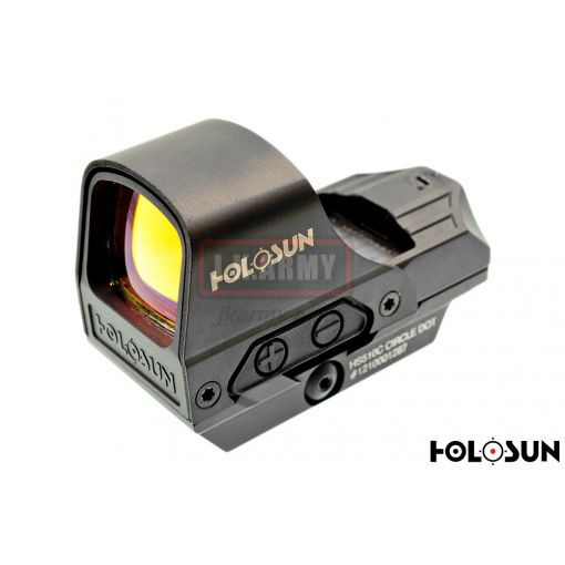 HOLOSUN HS510C Circle Dot & Solar ( Red Dot Sight ) (Optic)