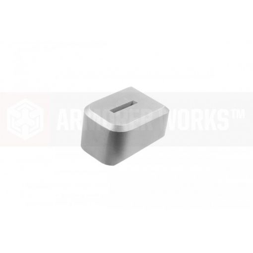 EMG / SAl DS 2011 Magazine Base Plate For Co2 Magazine ( Silver ) ( Salient Arms International™ )