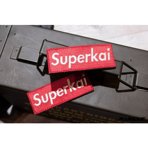 JK UNIQUE Patch - SUPER KAI ( Supreme Style Red )