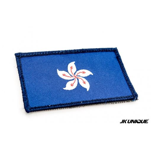 JK UNIQUE Hong Kong Flag Patch ( Navy Blue )