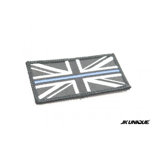 JK UNIQUE UK Flag The Blue Line Symbol Patch ( Free Shipping )