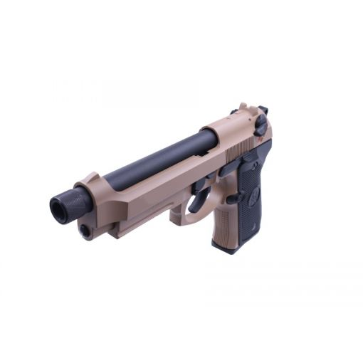 KJ Works M9A1 TBC Full Metal GBB Pistol ( Tan )
