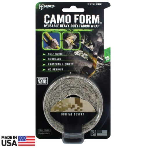 CAMO FORM® REUSABLE HEAVY-DUTY FABRIC WRAP - Desert Digital ( 19413 )