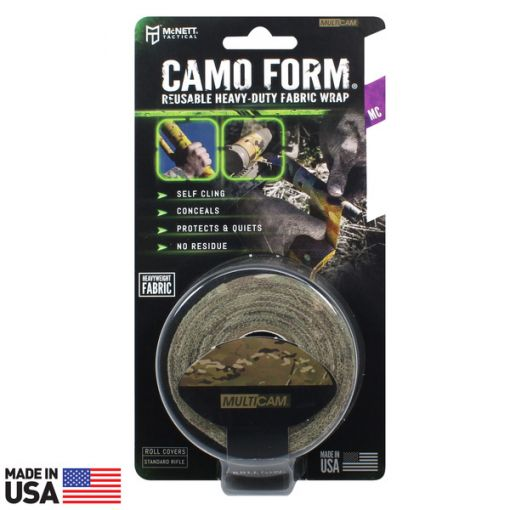 CAMO FORM® REUSABLE HEAVY-DUTY FABRIC WRAP - Multicam ( 19418 )