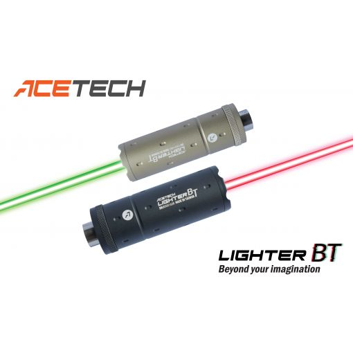 ACETECH Lighter BT Tracer / Chronograph Unit ( 14mm CCW / 11mm CW ) [ BK / TAN ]