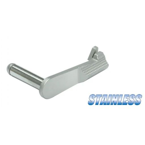 Guarder Stainless Slide Stop for MARUI M1911 ( Silver )