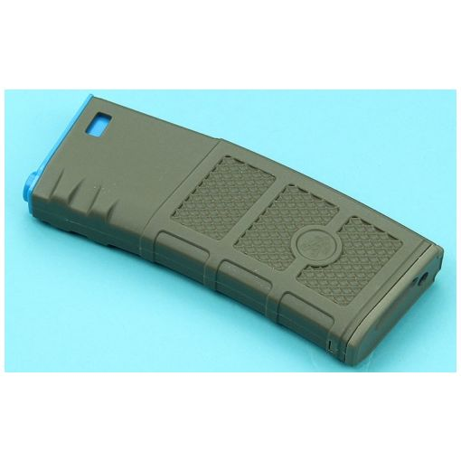 G&P Ball Ball Hi-Cap Magazine ( FDE / Blue )