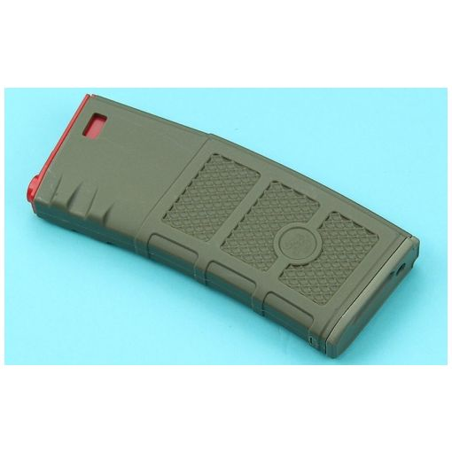 G&P Ball Ball Hi-Cap Magazine ( FDE / Red )