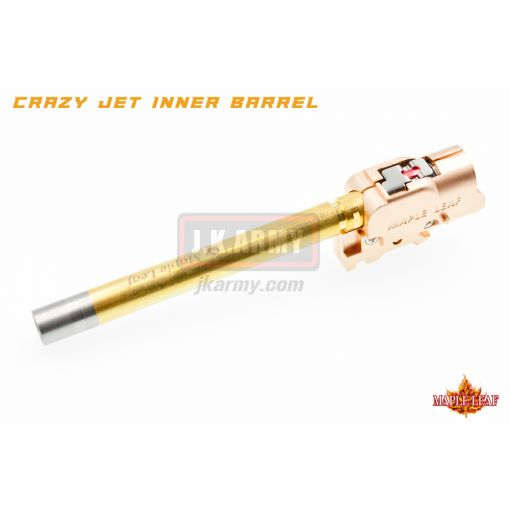 Maple Leaf G Series 97mm Crazy Jet Aerodynamic 6.04mm Inner Barrel w/ Hop Up Chamber Set Kit for WE / TM / VFC