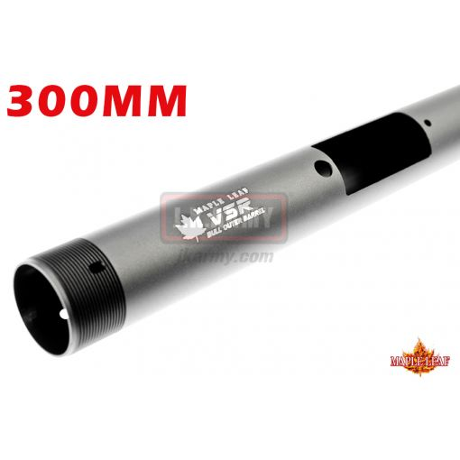 Maple Leaf VSR CNC Light Bull Outer Barrel & Cap for 300mm Inner Barrel ( for VSR-10 Series FN SPR A5M )