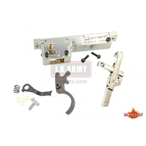 Maple Leaf VSR Infinity CNC Full Steel Trigger Set ( Set w/ Trigger Upgrade ) For VSR-10 Series FN SPR A5M