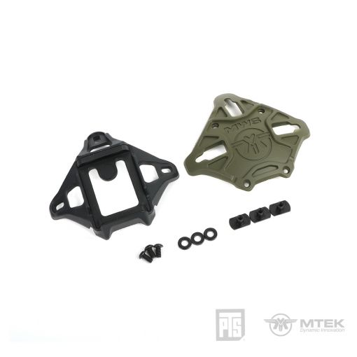 PTS MTEK FLUX Shroud with NVG mount Olive Drab