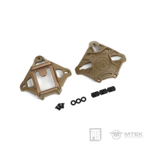 PTS MTEK FLUX Shroud with NVG mount Coyote Brown