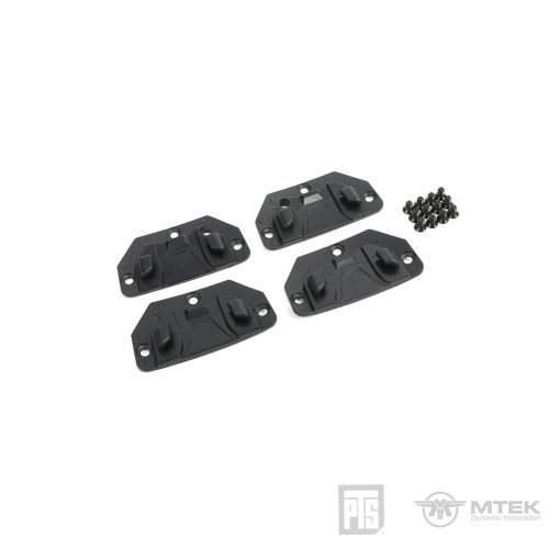 PTS MTEK FLUX Hook for Retention Strap Black